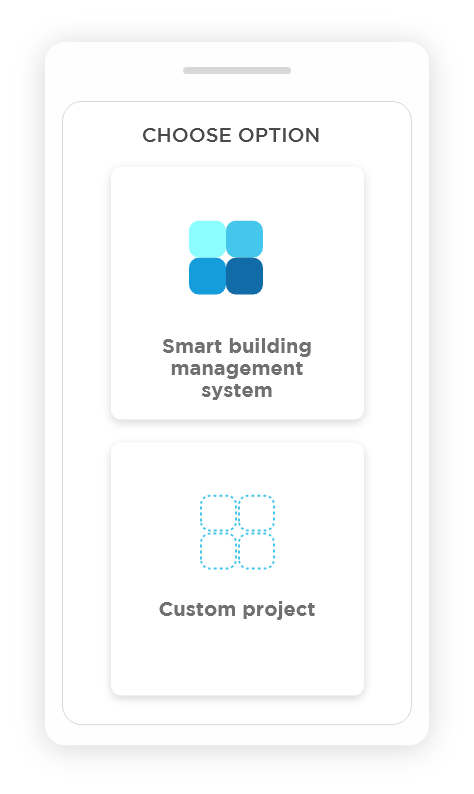 Smart building automation or custom project